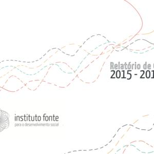 Relatório de gestão 2015 - 2016