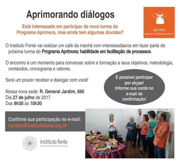 Participe do Aprimorando diálogos